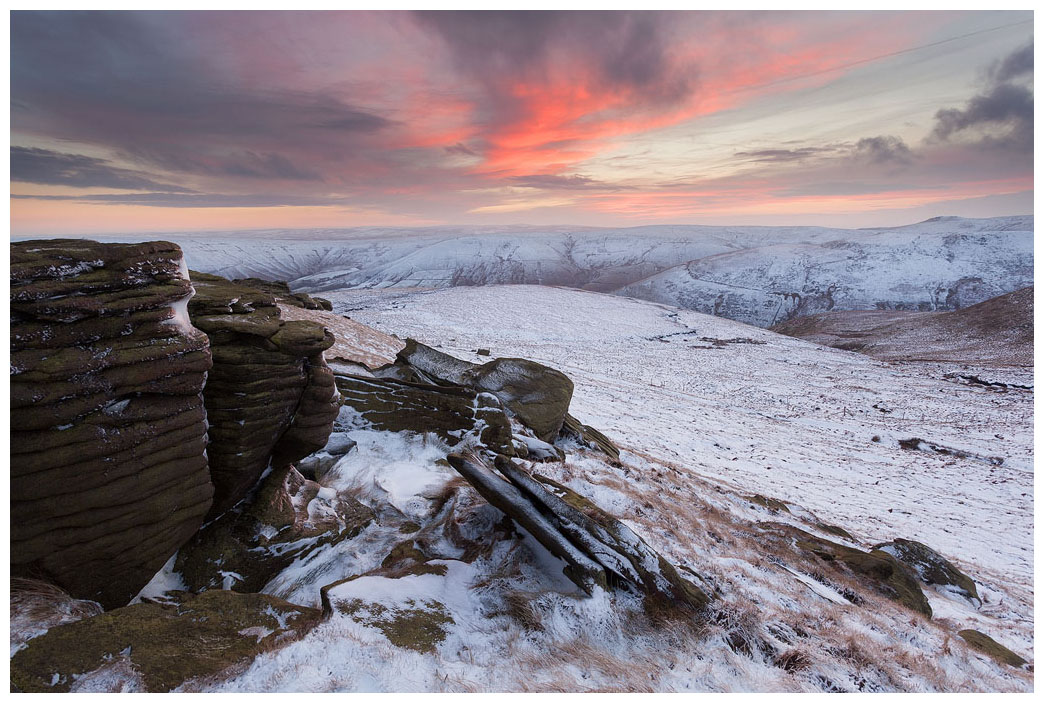 Winter on Grindslow Knoll