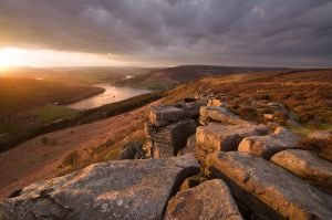 Bamford Edge Sunset