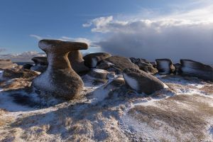 the Anvil Stone - Bleaklow Stones
