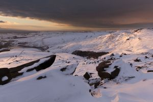 Above Cluther Rocks - Kinder Scout - 2