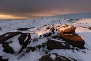 Above Cluther Rocks - Kinder Scout - 1