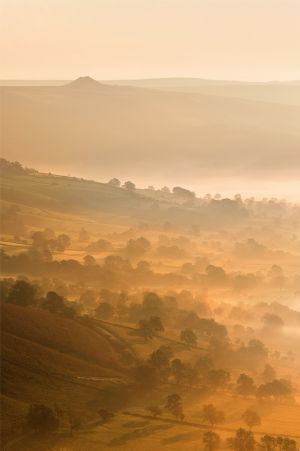 Hope Valley Mist and Win Hill
