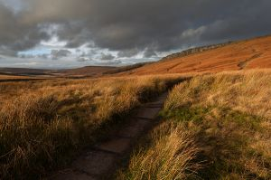 Path to Stanage Edge