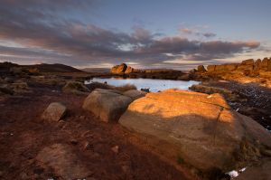 Last Light at Doxey Pool