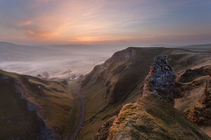 Winnats Pass - Just Before Sunrise