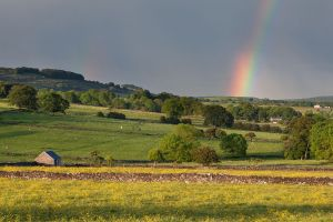 Little Longstone Barn Rainbow