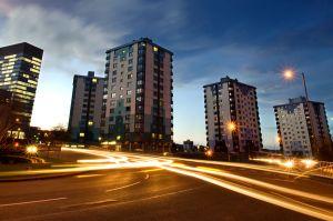 Sheffield. Brook Hill Roundabout