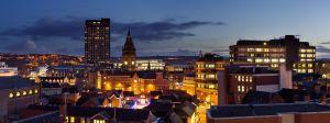 Sheffield City at Night